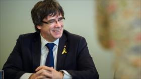 Independentistas buscan aprobar una ley para investir a Puigdemont