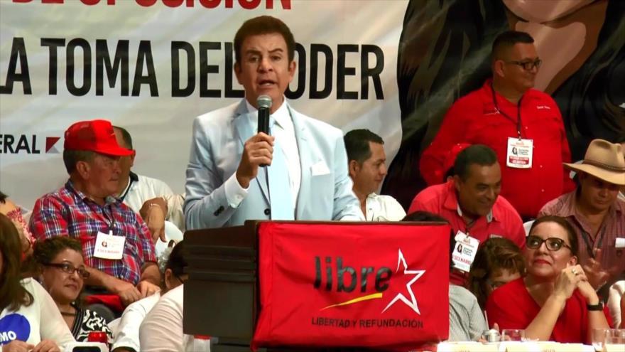 Salvador Nasralla decide abandonar la Alianza de Oposición