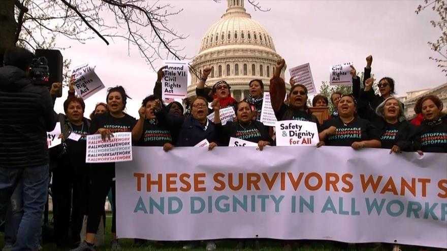 Minorías en EEUU no pueden demandar si son víctima de acoso sexual