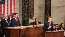 Macron en EEUU: Debemos llegar a nuevo acuerdo 'integral' con Irán