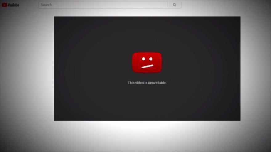 YouTube elimina un vídeo que muestra la brutalidad de Israel hacia los palestinos.