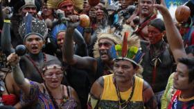 Indígenas repudian política de Gobierno de Brasil sobre tierras