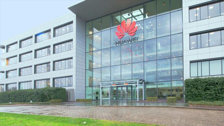 Edificio del fabricante chino Huawei en Santa Clara, California, Estados Unidos.