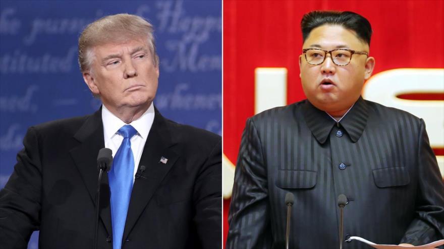 Trump: Puede que ni siquiera haya reunión con Kim Jong-un