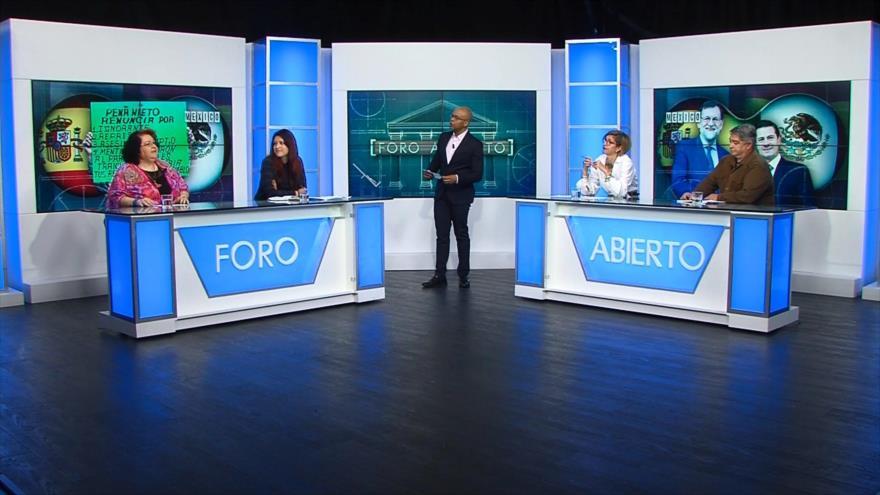 Foro Abierto; México: Peña Nieto visita España