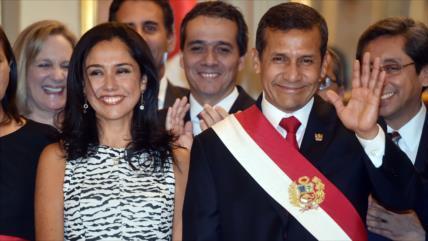 Justicia peruana ordena libertad de Humala y su esposa