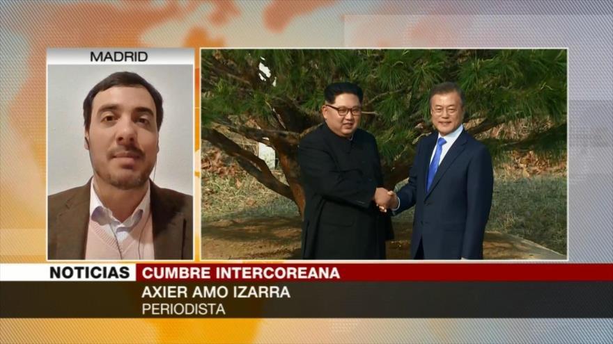 'Cumbre intercoreana muestra la paz para una nueva península'