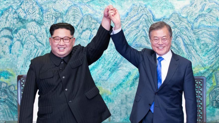 Las dos Coreas acuerdan 'desnuclearización completa' de península