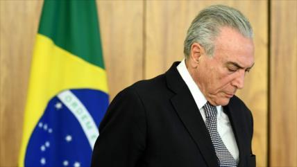 Policía Federal de Brasil investiga a Temer por lavado de dinero
