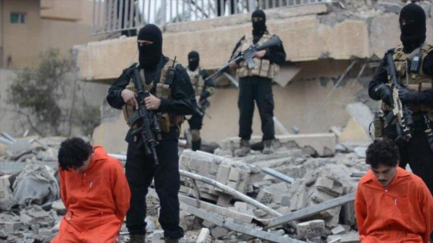 Daesh publica vídeo de ejecución de dos defensores de comicios iraquíes