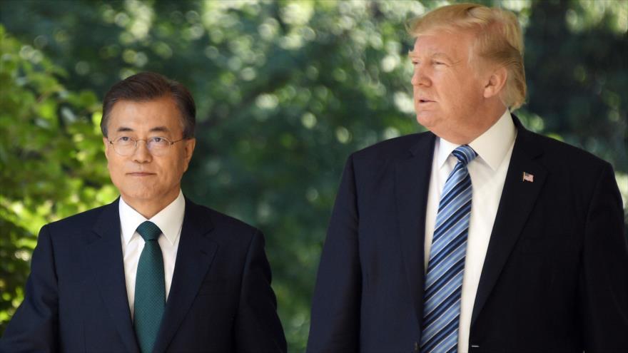 Trump: 'las cosas van muy bien' de cara a la reunión con Kim