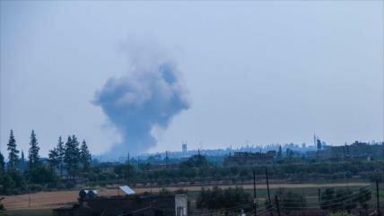 Cazas rusos facilitan ofensiva antiterrorista de Siria en Homs