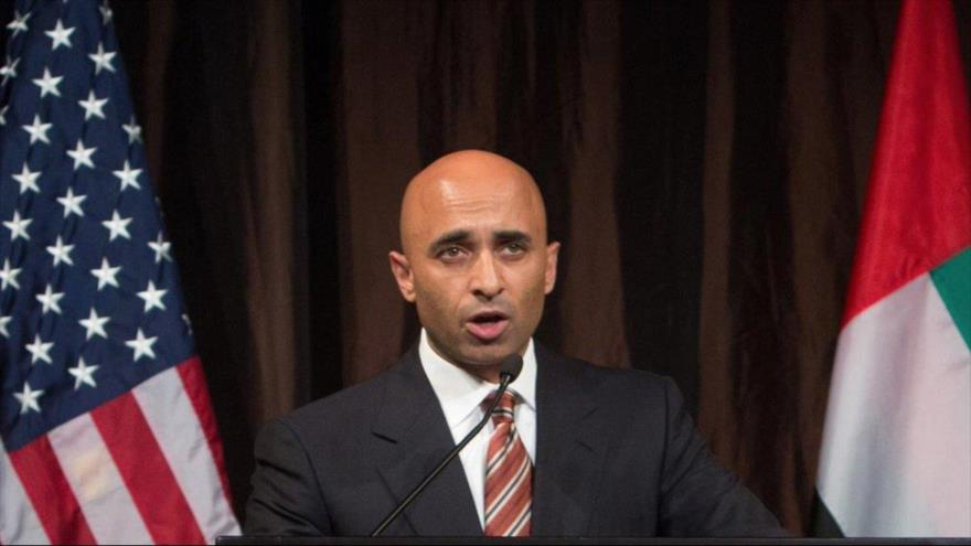 El embajador de los Emiratos Árabes Unidos (EAU) en Estados Unidos, Yousef al-Otaiba.