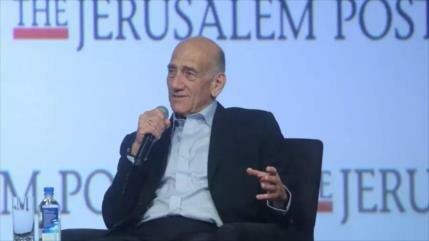 Olmert: Israel no es capaz de atacar sitios nucleares de Irán