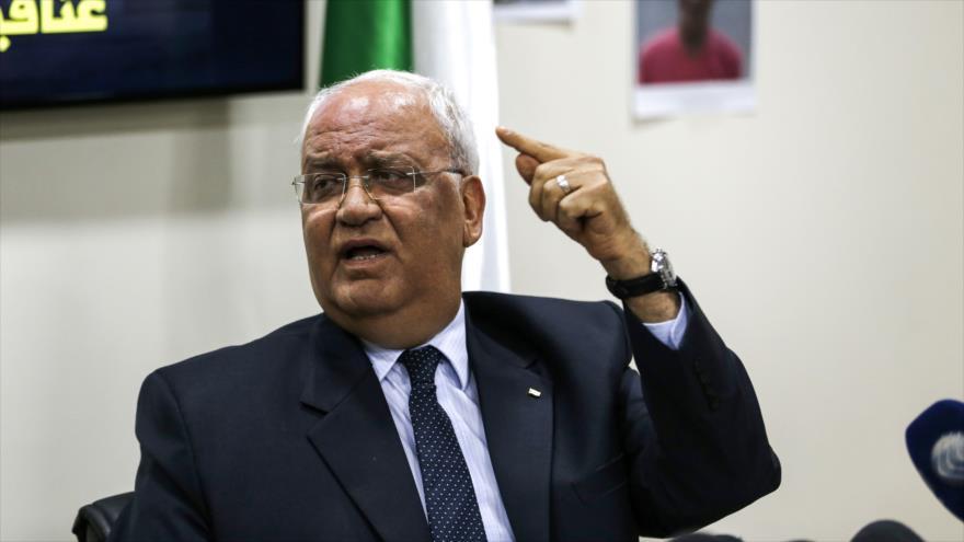 Palestina no aceptará ningún 'plan de paz' por parte de Trump