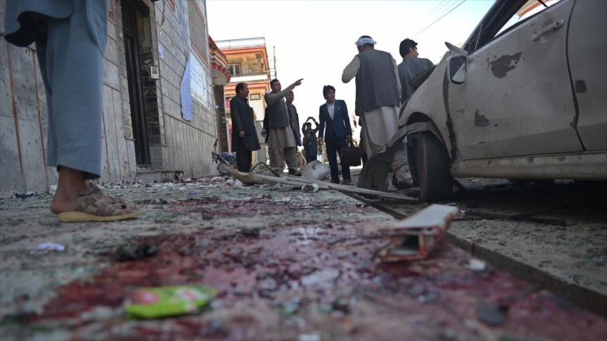 ISIS reivindica atentado que mató al menos a 25 personas — Afganistán