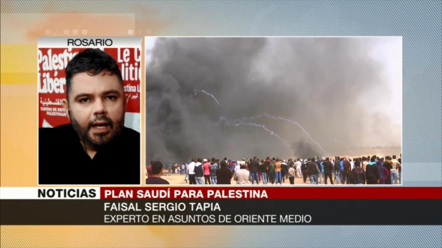 'Bin Salman, un payaso de EEUU que apoya masacre de palestinos'