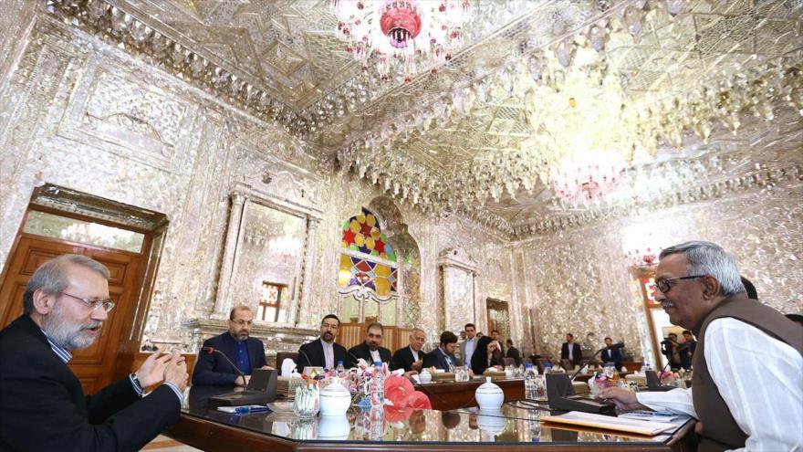Lariyani: Los países autoritarios fomentan la discordia entre musulmanes
