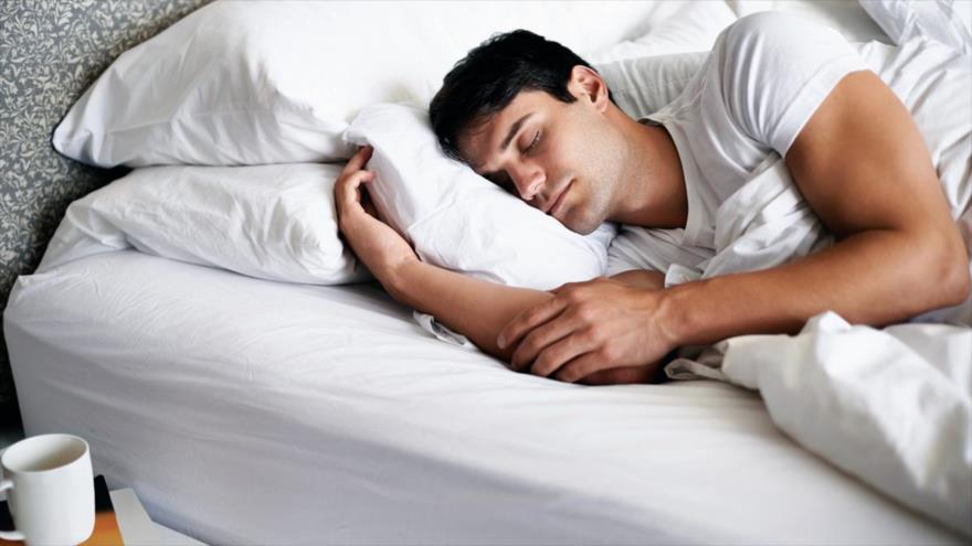 Pies duerme boca abajo duelen cuando los