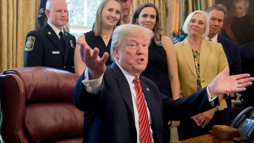 Trump podría asistir a apertura de la nueva embajada en Al-Quds