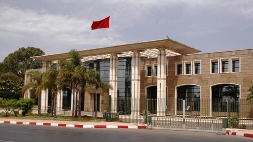 Fachada del Ministerio de Exteriores de Marruecos en Rabat, capital del reino alauí.