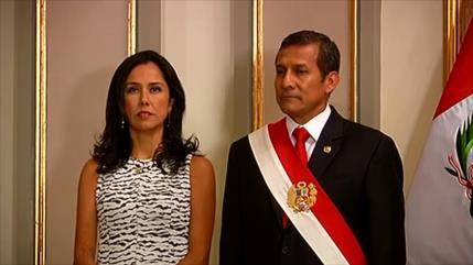Fiscalía peruana evalúa presentar pedido de prisión contra Humala