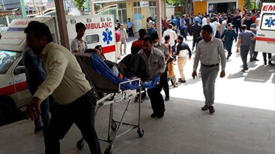 Van 105 heridos tras sismo de magnitud 5.1 en Irán