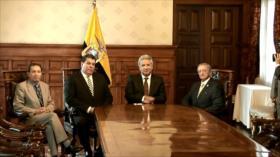 Moreno posesiona a nuevos ministros del Interior y de Defensa