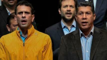 Falcón pide apoyo de Capriles en las presidenciales de Venezuela