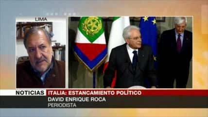 'Nuevas elecciones fortalecerán la extrema derecha en Italia'