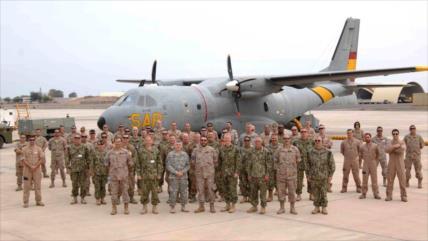 Pilotos de EEUU sufren lesiones por láseres chinos en Yibuti