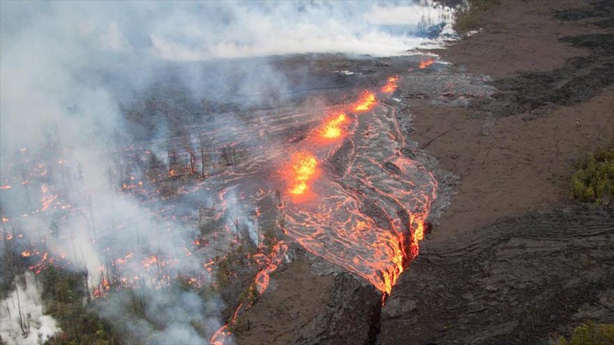 Sismo de magnitud 6.9 sacude Hawái tras erupción del Kilauea