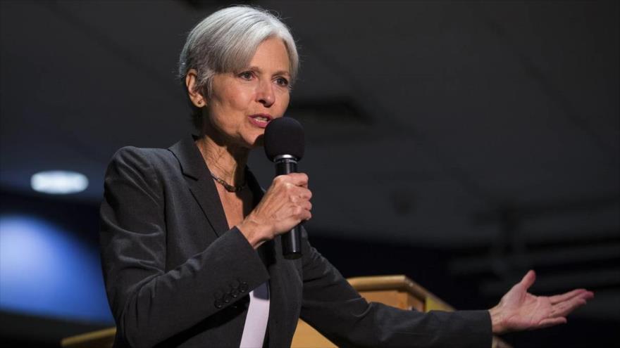 La líder del Partido Verde de EE.UU. y ex candidata presidencial estadounidense, Jill Stein.