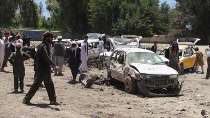 Explosión en una mezquita deja al menos 19 muertos en Afganistán
