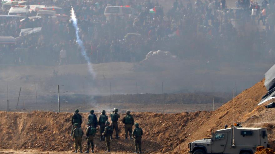 Israel hirió a 8000 manifestantes palestinos desde 30 de marzo