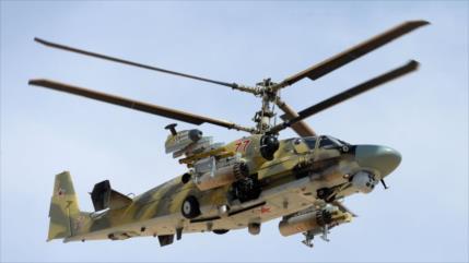 Se estrella helicóptero ruso en Siria, mueren los dos pilotos