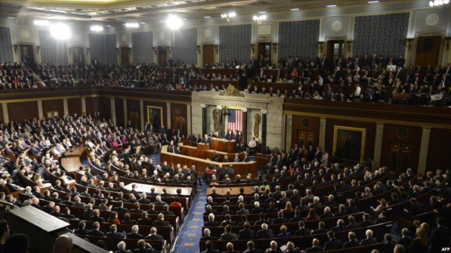 Una sesión del Congreso de Estados Unidos, en Washington DC (la capital).