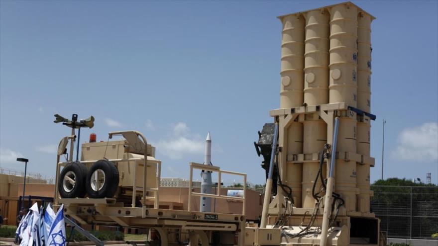 El sistema antimisiles Arrow 2 del ejército israelí.