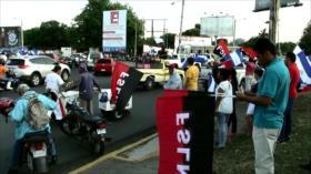 Continúan protestas a favor y en contra del Gobierno en Nicaragua