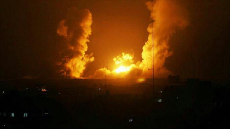 Israel ataca con artillería, Siria responde lanzando cohetes