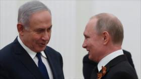 Netanyahu: Rusia no limitará acciones militares de Israel en Siria