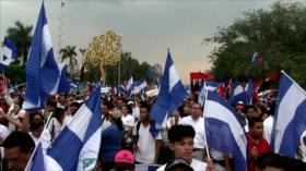 Nicaragüenses realizan marcha nacional exigiendo justicia y paz