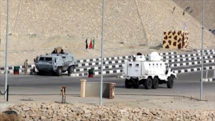 Egipto abate a 21 presuntos terroristas en la península del Sinaí