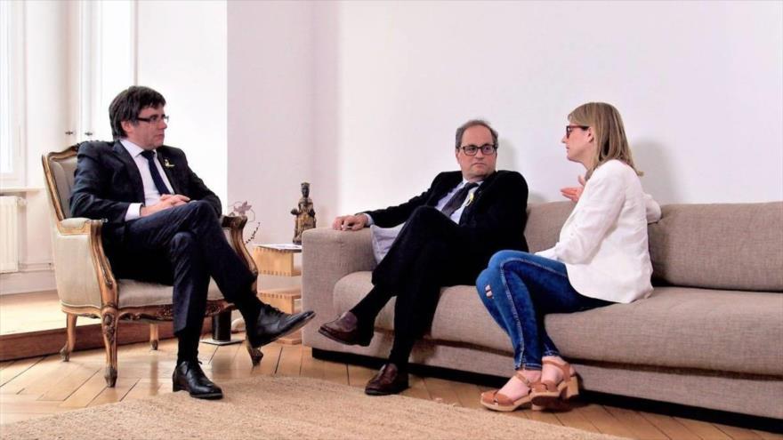 Puigdemont designa al diputado Quim Torra para presidir el Gobierno catalán