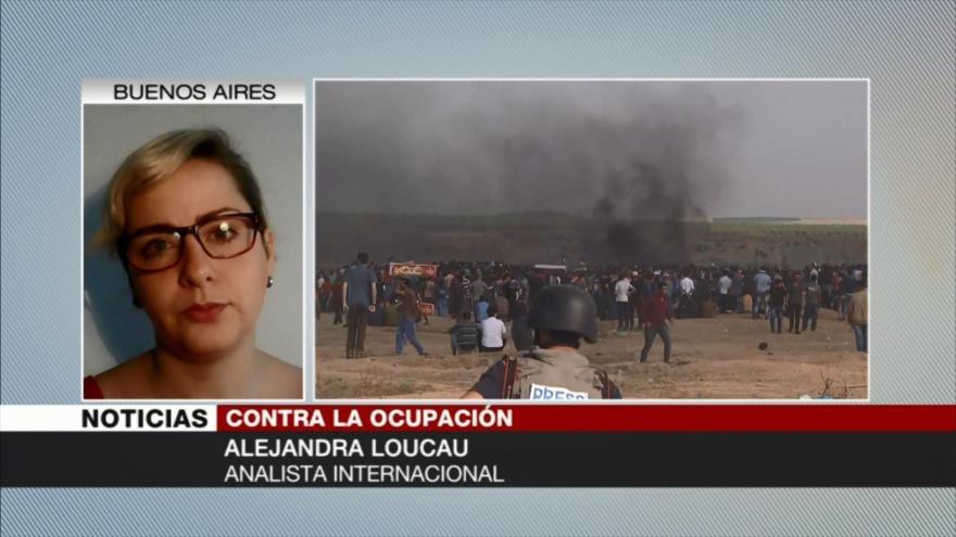 Alejandra Loucau: Resistencia palestina ante Israel es ejemplar