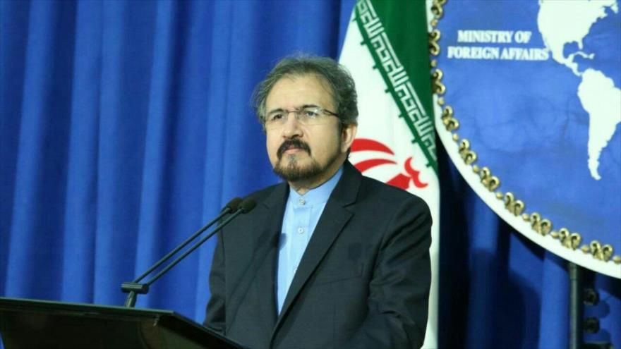 El portavoz de la Cancillería iraní, Bahram Qasemi.
