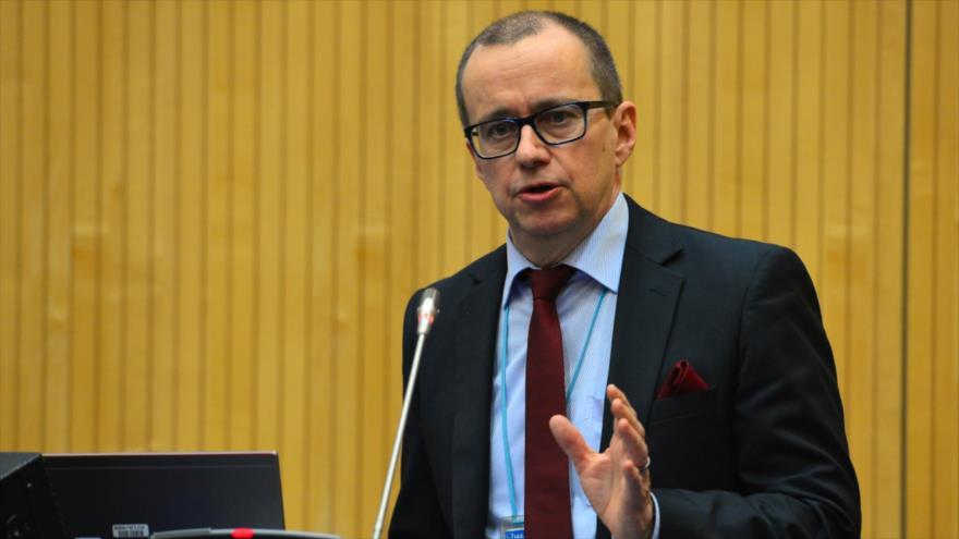 El subdirector de la Agencia Internacional de Energía Atómica (AIEA) para Salvaguardas,Tero Varjoranta.