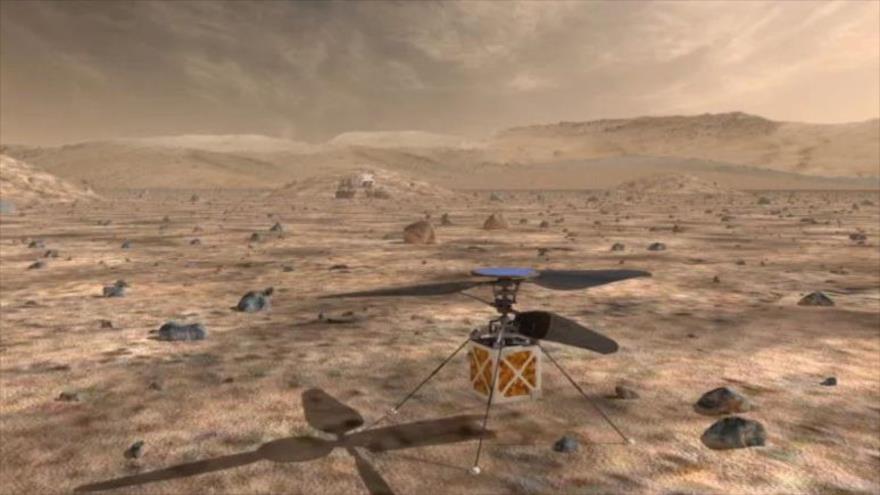 La NASA planea enviar un mini-helicóptero a Marte en 2020