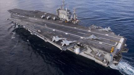 Fragata rusa acecha a un portaviones de EEUU en el Mediterráneo
