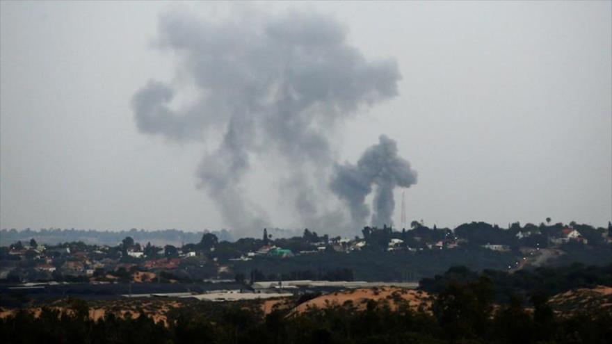 Cazas israelíes bombardean una planta eléctrica en Franja de Gaza